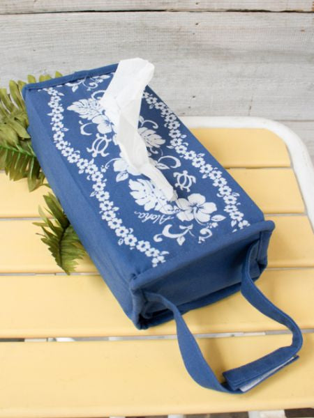 Honu & Hibiscus Tissue Box Cover-Home Decor-Ametsuchi
