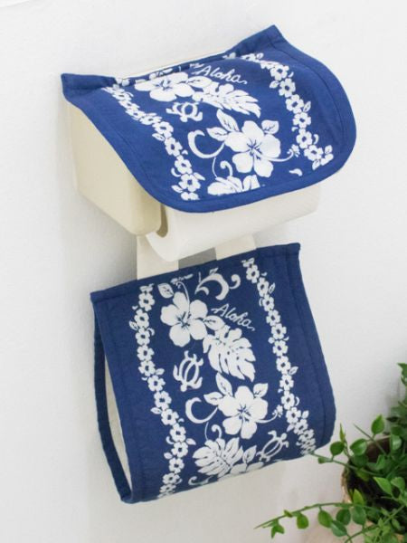 Honu & Hibiscus Toilet Paper Holder Cover