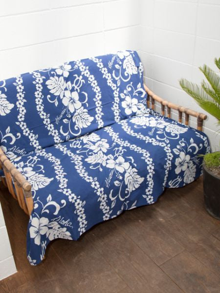 Honu & Hibiscus Multi Cloth-Bed Linen-Ametsuchi