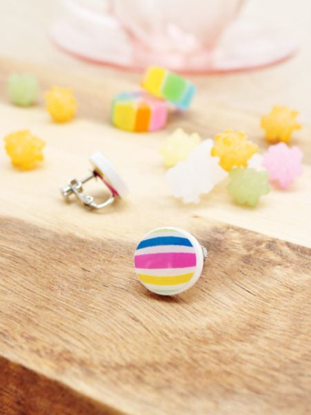Candy Clip Earrings