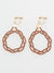 AIOI MIZUHIKI Knot Clip Earrings