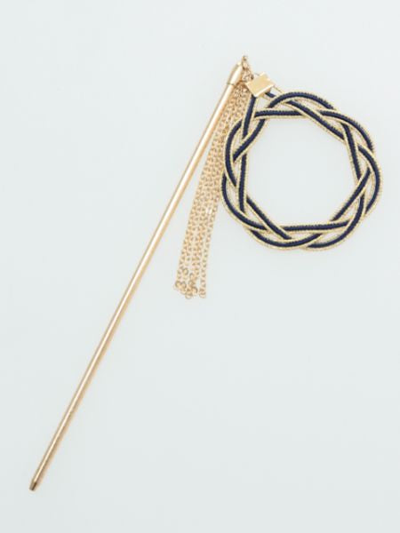AIOI MIZUHIKI Knot Hair Stick-Hair Accessories-Ametsuchi