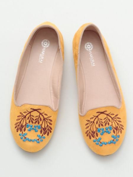 Nandin Embroidered Pumps
