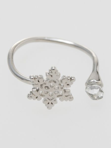 Openwork Flower Ring-Ametsuchi