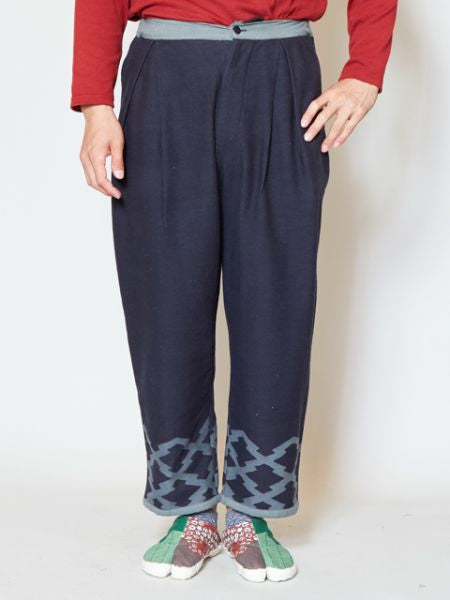 SASHIKO Cotton Leg Pants
