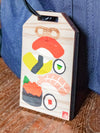 Japanese Amulet Shape Wooden Luggage Tag-Ametsuchi