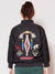Navajo Pattern Embroidered MA-1 Style Jacket