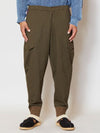 Patchwork Sweat Jodhpurs Pants-Pants & Shorts-Ametsuchi