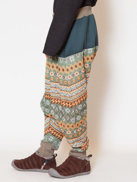 Jacquard Men's Harem Pants
