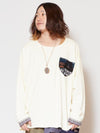 Nep Yarn Sweat Top-Tops-Ametsuchi