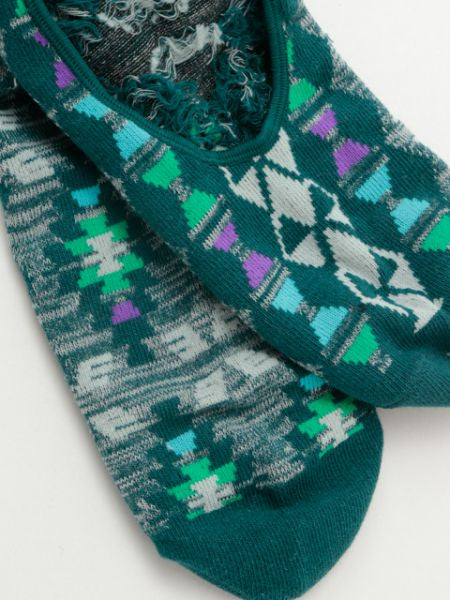 Turkish Kilim Pattern Invisible Socks 25~28cm