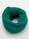 Unisex Plain Knitted Snood-Scarves-Ametsuchi