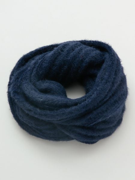 Unisex Plain Knitted Snood -Scarves-Ametsuchi