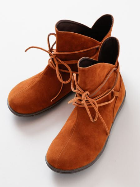 Plain Bohemian Men's Short Boots-Shoes-Ametsuchi