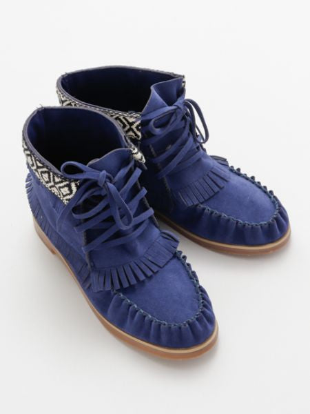 Moccasin Short Boots-Shoes-Ametsuchi