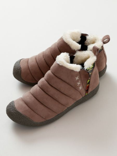 Faux Fur Fluffy Shoes-Zapatos-Ametsuchi