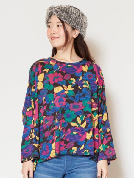 Floral Printed Long Sleeve Top