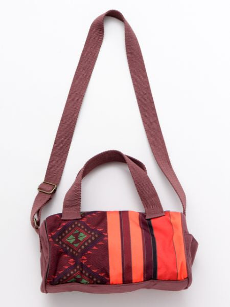 Ethnic Pattern Printed Mini Round Shoulder Bag-Bags & Purses-Ametsuchi