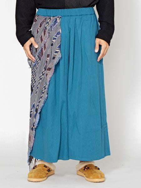 Asymmetrical Bohemian Wide Leg Pants