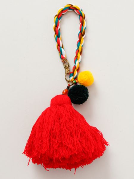Large Tassel Bag Charm