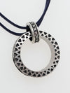 Big Ring Men's Necklace -Necklaces-Ametsuchi