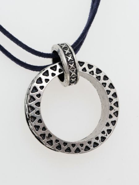 Big Ring Men's Necklace-Ametsuchi