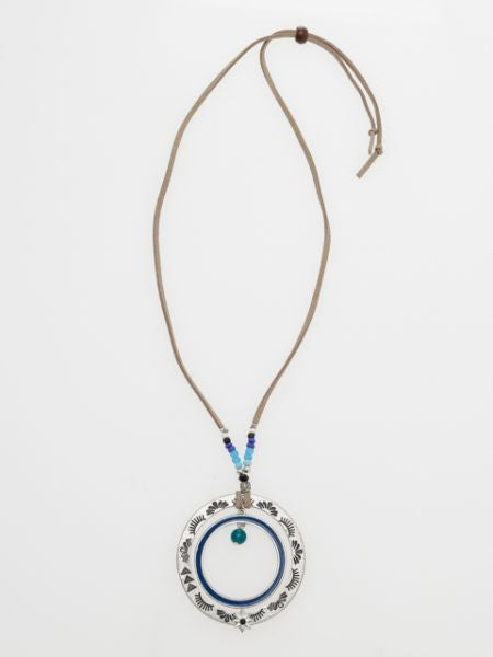 Navajo Style Circle Necklace