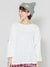 Slub Jersey Cotton Oversized Top