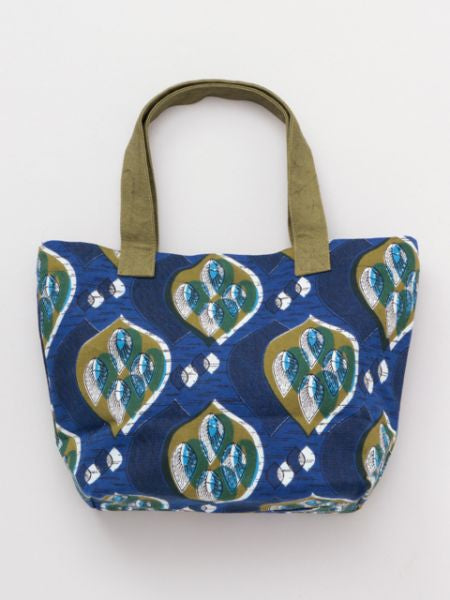 African Pagne Pattern Mini Tote Bag-Bags & Purses-Ametsuchi