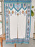 Arabesque NOREN Door Slit Curtain