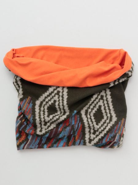 Navajo Pattern Neck Warmer-Ametsuchi