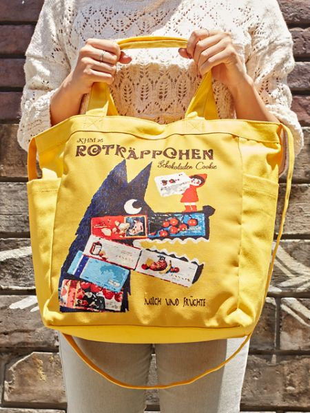 Retro European Tote & Shoulder 2way Bag