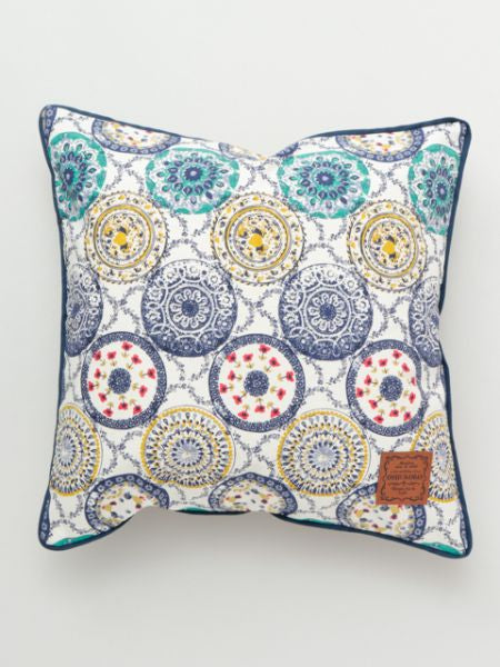 Spanish Pottery Pattern Pillow Case