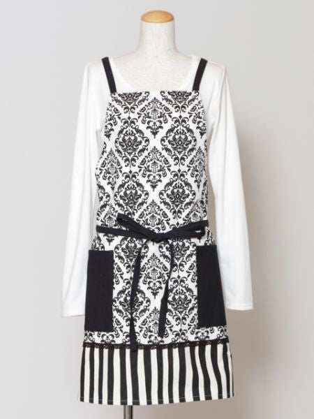 Damask Pattern Apron