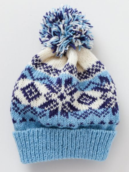 Nordic Pattern Knitted Beanie