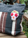 Calavera Felt Ornament-Home Decor-Ametsuchi