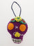 Calavera Felt Ornament