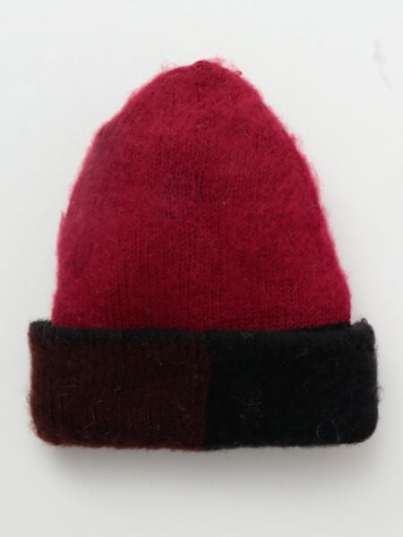 Triple Color Knitted Beanie-Caps & Hats-Ametsuchi