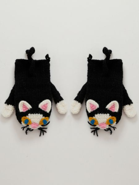 Hand Knitted Animal Gloves