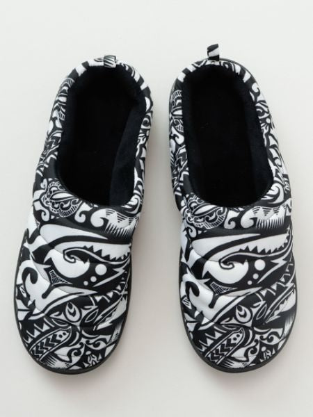Ethnic Quilt Shoes-Shoes-Ametsuchi