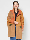 Colorblock Sweat Jacket-Ametsuchi