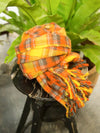Plaid Large Shawl -Scarves-Ametsuchi