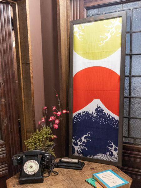 Serviette TENUGUI Wave x Mt Fuji