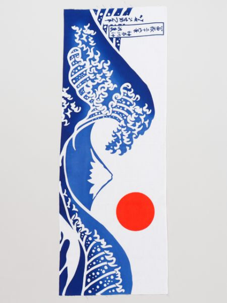 TENUGUI Towel Thirty-six Views of Mount Fuji Off the coast of Kanagawa
