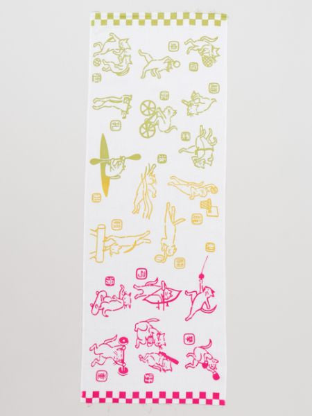 TENUGUI Towel Sport Cats-Home Accessories-Ametsuchi