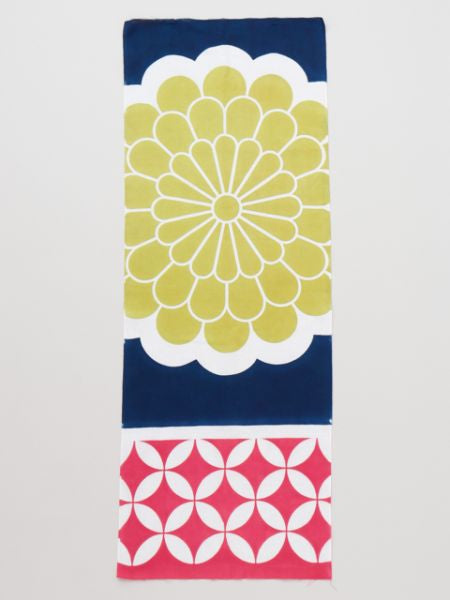 TENUGUI Towel Chrysanthemum Pattern