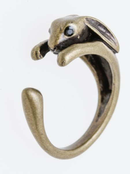 Hugging Animal Ring
