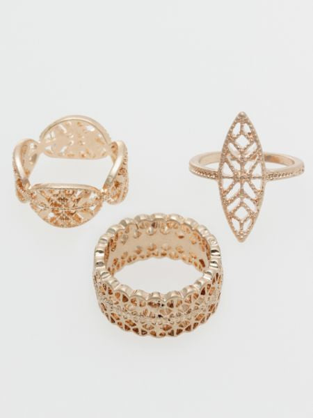 Bohemian Ring Set -Rings-Ametsuchi