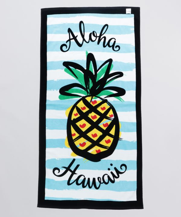 Hawaiian Beach Bath Towel-Ametsuchi