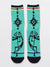 Native American Indian Jewelry Motif Socks 25-28cm